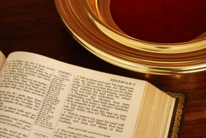 bigstock-Bible-And-Collection-Plate-3141563